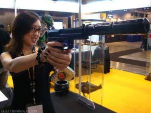 Sue + Gun = Danger to self