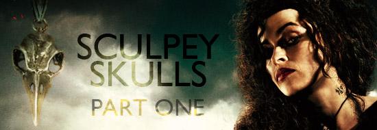 Sculpey Skulls I